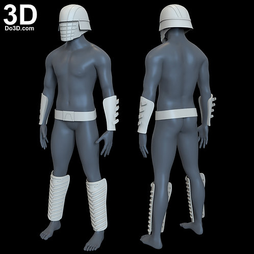 Vicrul Helmet Bracer Belt Shin Armor Knights of Ren | 3D Model Project #N16
