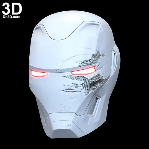 Iron Man Mark L Battle Damaged Helmet MK 50 | 3D Printable Model STL File #N38