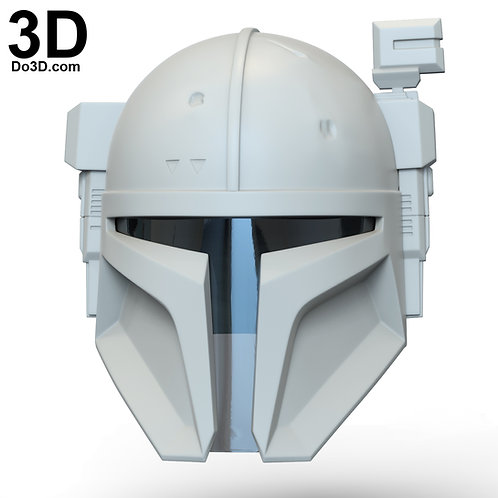 Heavy Infantry Mandalorian Helmet Paz Vizla | 3D Model Project #6282