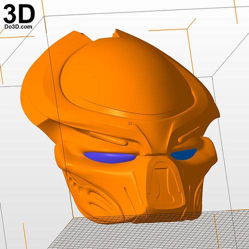 Predator 2018 Helmet Bio-Mask Cowl | 3D Printable Model #2705