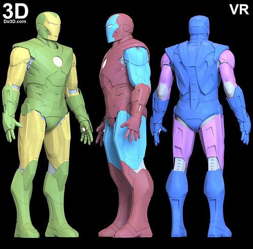 Iron Man VR Armor Suit   3D Model Project #6158