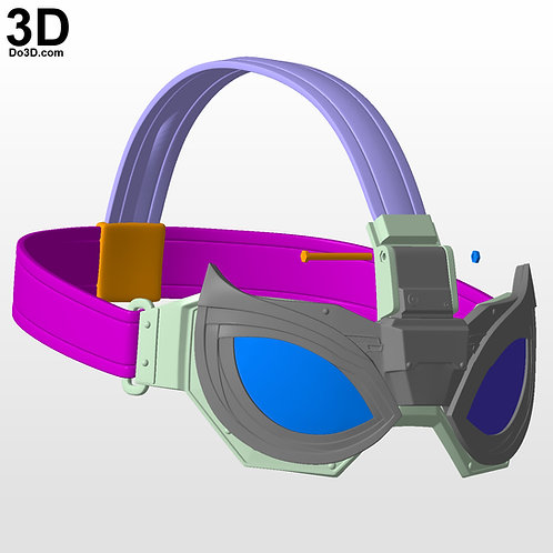 Spider Man Stealth Night Monkey Goggle ONLY | 3D Model Project #5996-1