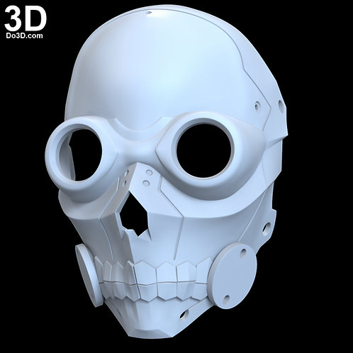 Death Gun Mask  | 3D Printable Model #1035
