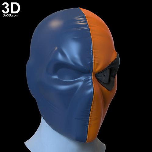 DeathStroke Old School Cosplay Helmet by Do3D.com   3D Model Project #4715