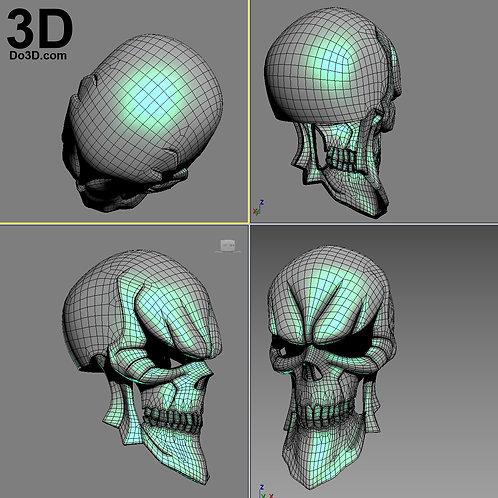Ainz Ooal Gown Momonga Helmet Overlord | 3D Model Project #2567