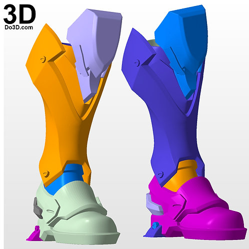 Reaper Overwatch Boots Shin | 3D Model Project #2977