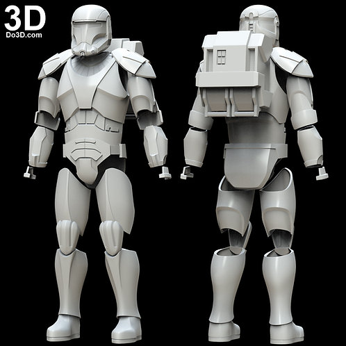 Republic Commando Star Wars Armor | 3D Model Project #5300