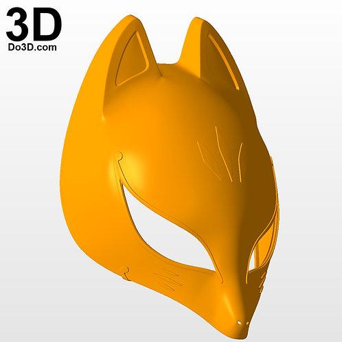 Fox Kitagawa Yusuke Persona 5 Mask | 3D Printable Model #PM3