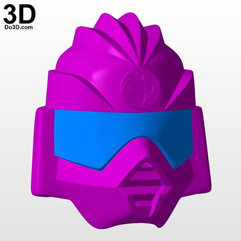 G I Joe Crimson Guard Eternal Helmet | 3D Model Project #5615