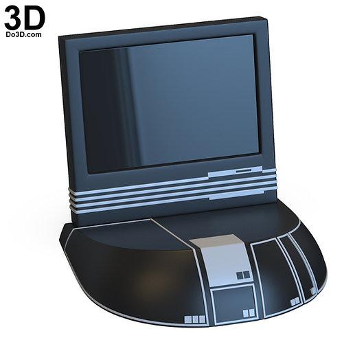 Star Trek: The Next Generation TNG Desktop Computer | 3D Model Project #4856