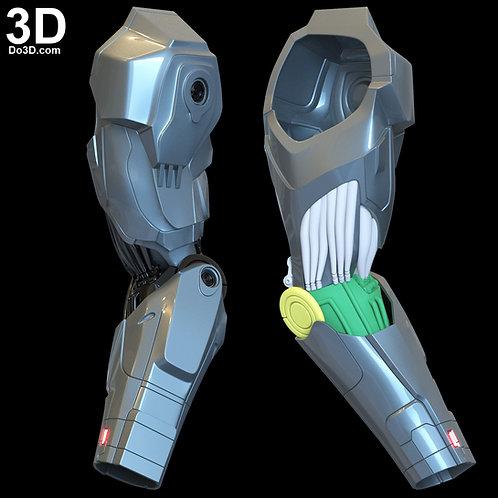 3D Printable Model: Robocop 2014 Silver Arm | File Format: STL #N50