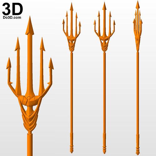 Aquaman Justice League Trident | 3D Printable Model STL #AT83