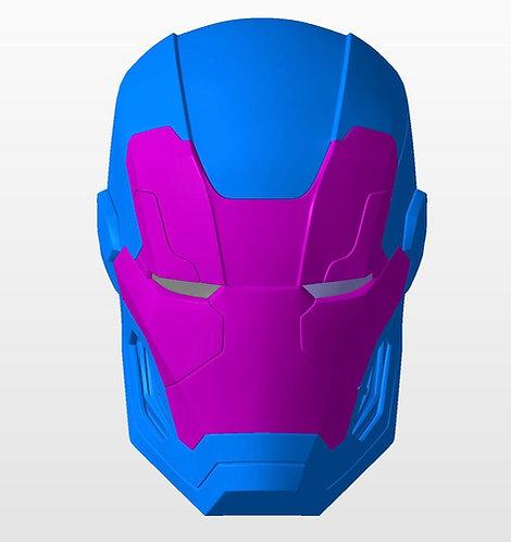 Iron Man War Machine 006 Helmet Only | 3D Printable Model #WM6