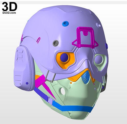 Helmet from Ghost Recon Breakpoint   3D Model Project #5979