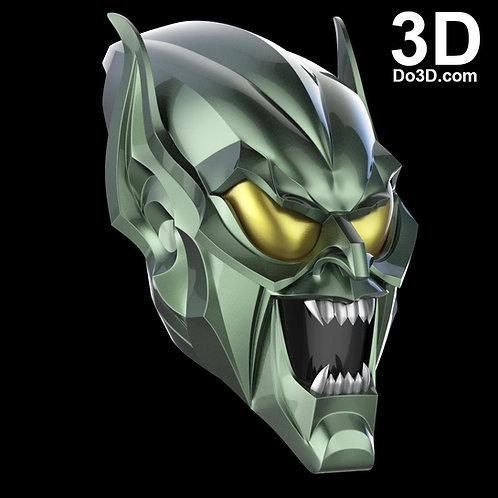 Green Goblin Helmet Mask from Sam Raimi Spider-Man | 3D Printable Model #688