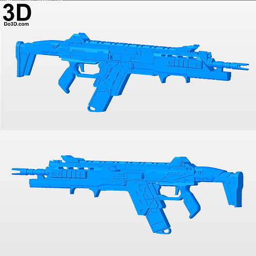 Titanfall 2 R201-SOAR Blaster, Rifle | 3D Printable Model Project #3001