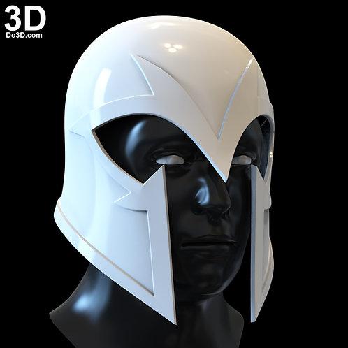 X-Men Dark Phoenix Magneto Helmet | 3D Model Project #5134