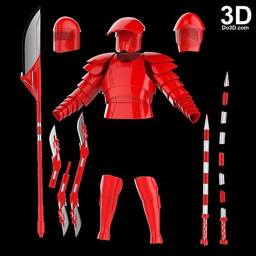 Elite Praetorian Royal Guard Star Wars Set | 3D Model Project #3833