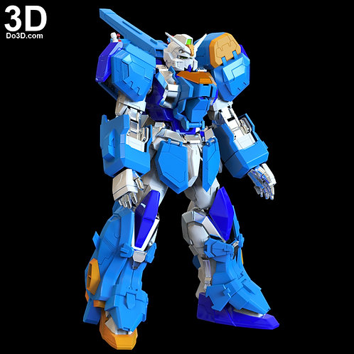 Duel Gundam Assault Shroud Full Body Armor | 3D Model Project #1752
