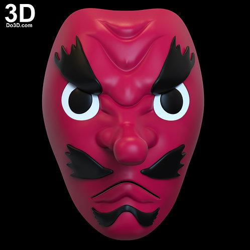 Sakonji Urokodaki Mask Demon Slayer Kimetsu no Yaiba | 3D Model Project #6665