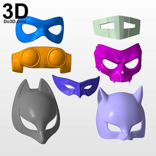 Persona 5 Mask Set Joker Ann Fox Haru Okumura Skull Navi Queen Project #2849