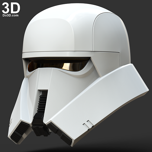 Range Trooper Helmet Star Wars | 3D Printable Model Project #4557