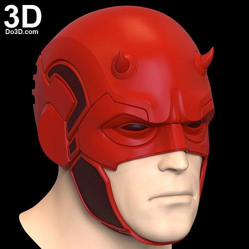 Daredevil SS Helmet | 3D Model Project #6556