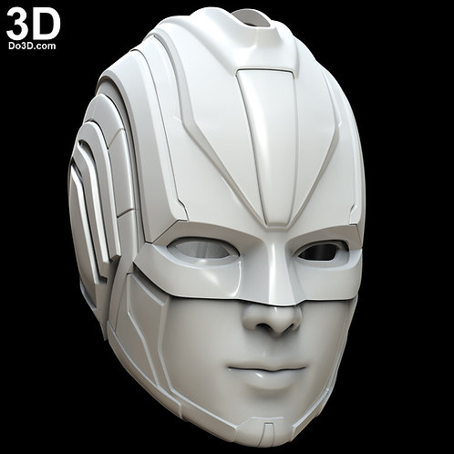 Captain Marvel 2019 Movie Helmet | 3D Model Project #5339