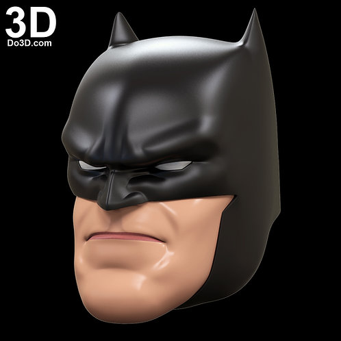 Batman Dark Knight Returns Cowl Helmet Toy Version | 3D Model Project #2730