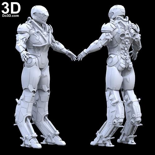 Anthem Ranger Javelin Armor | 3D Printable Model Project #3289