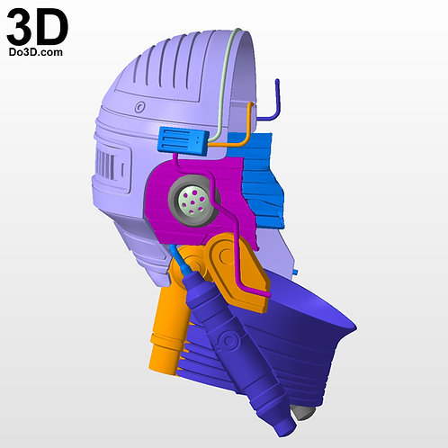 RoboCop 1987 Inner Helmet Parts | 3D Printable Model #5621