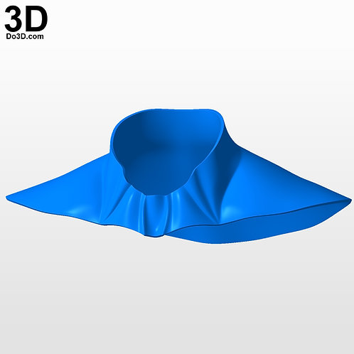 Nightwing Neck Guard Piece | 3D Model Project #4746