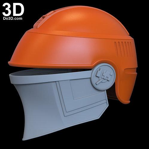 Fennec Shand Helmet Star Wars Mandalorian | 3D Printable Model #FS23