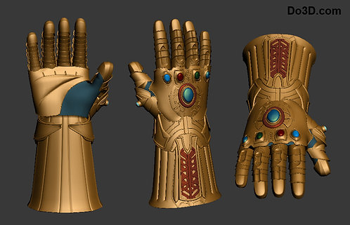 Thanos Infinity Gauntlet V1 | 3D Model Project #398