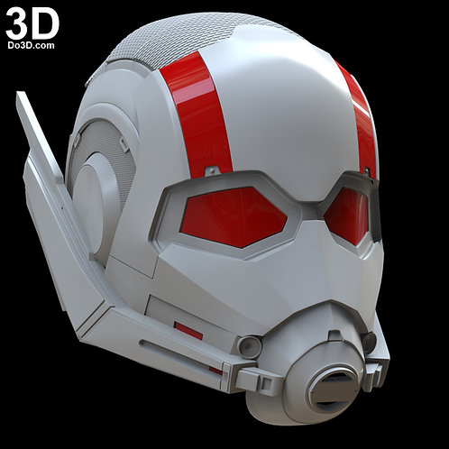 Ant-Man and the Wasp Male Helmet | 3D Model Project #4147