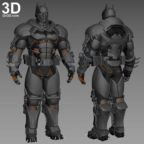 Cold Cold Heart Arkham Origins Batman XE Armor | 3D Printable Model #2126