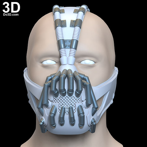 Bane Mask The Dark Knight Rises TDK | 3D Model Project #6759