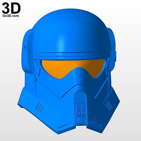 Mountain Trooper Star Wars Helmet | 3D Model Project #5966