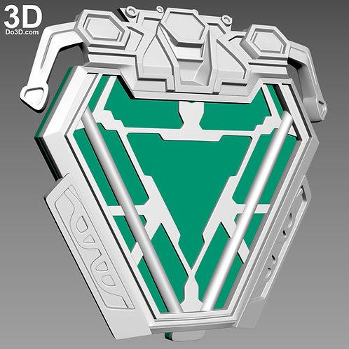 Iron Man Mark L MK 50 Uni-beam Arc Reactor   3D Model Project #4446