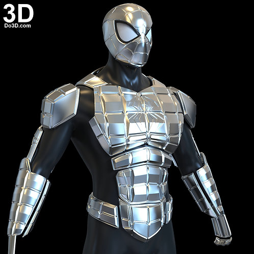 Armored Spider-man Unlimited MK1 | 3D Printable Model #5489