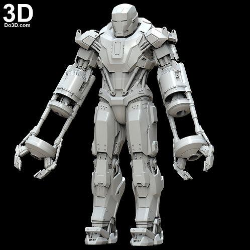 Iron Man Mark XXXV Red Snapper Armor Suit  MK 35 | 3D Printable Model #5406