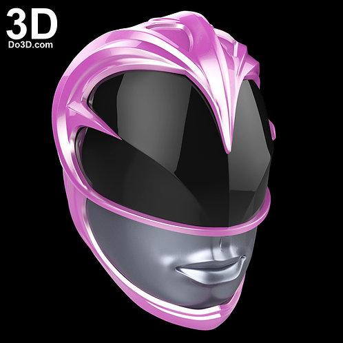 The Pink Ranger Helmet from New Power Rangers 2017 | 3D Model Project #1693