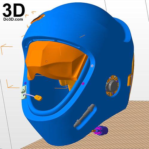 Star Wars Y-Wing Pilot Helmet | 3D Model Project #2723