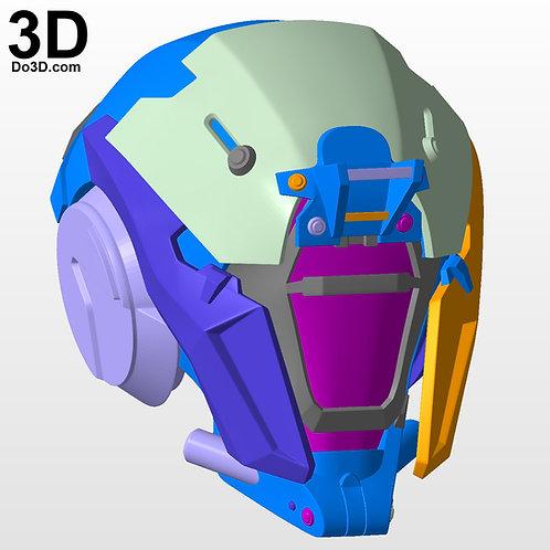 Locus Watcher I Destiny Warlock Helmet | 3D Printable Model #2789