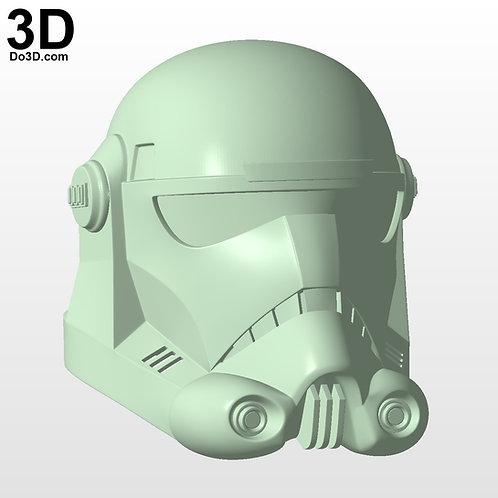 Clone Force 99 Star Wars Bad Batch Hunter Helmet | 3D Printable Model STL #CF99