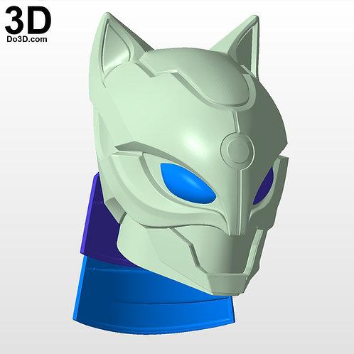 Catwoman Helmet - KNIGHT of the RISING SUN XM Studios | 3D Model Project #4435