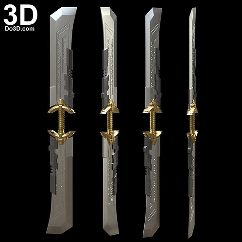 Thanos Sword Knife, Weapon Avengers Endgame | 3D Model Project #5835