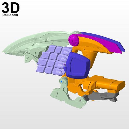 Power Rangers Jungle Fury Rhino Ranger Morpher | 3D Model Project #6274