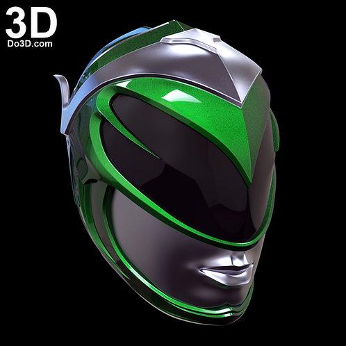 Green Ranger 2017 Rita Female Helmet Power Rangers   3D Model Project #2212