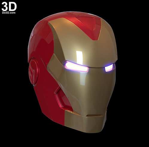 3D Printable Model: Iron Man VR Helmet | STL FIle #V21